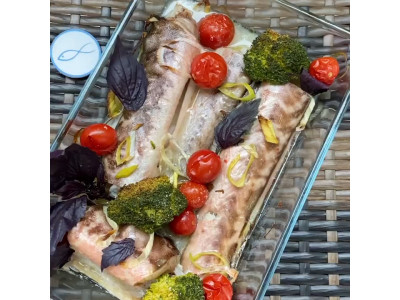 «Конгрио» с овощами