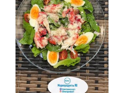 Камчатский салат с крабом