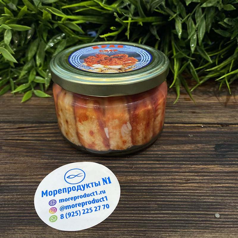 Мясо краба (премиум) 250 гр