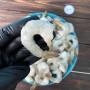 Тигровые креветки очищенные хвостики 1 кг.