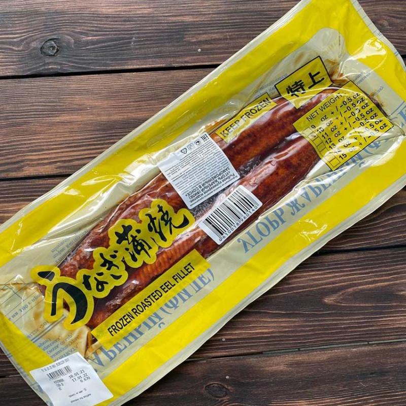 Угорь жареный в соусе Терияки (5% соуса в упаковке)