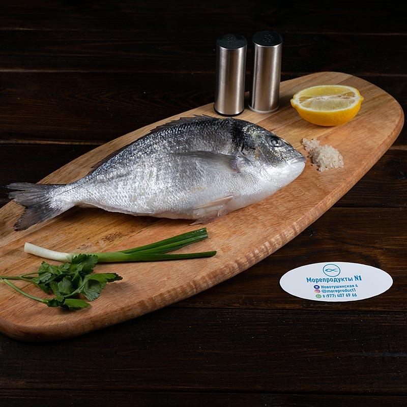 Дорадо 350-500 гр. рыба целая непотрошеная
