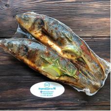 Сибас - очищенный, потрошеный в специях и оливковом масле