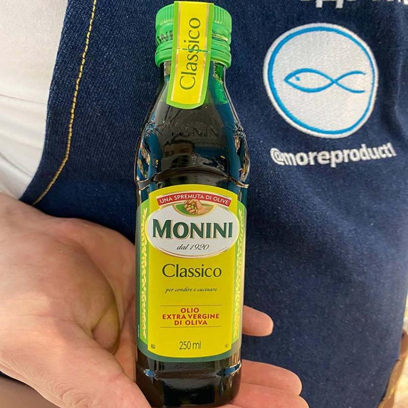 Нерафинированное оливковое масло Monini 250 мл.