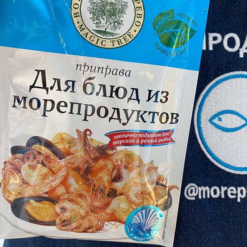 Приправа для блюд из морепродуктов